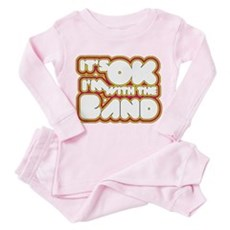 I'm With The Band Toddler Pink Pajamas