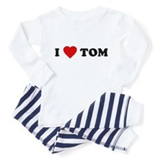 I Love [Heart] Tom Toddler Pajamas