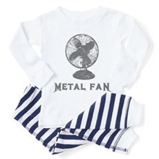 Metal Fan Toddler Pajamas
