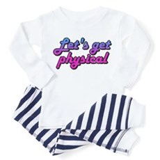 Let's get physical Toddler Pajamas