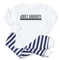 Obey Gravity Toddler Pajamas