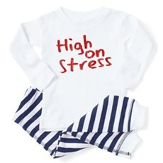 High on Stress Toddler Pajamas