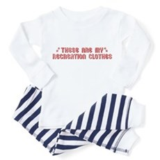 These Are My Recreation Clothes Toddler T-S