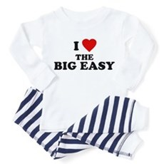 I Love [Heart] the Big Easy Toddler Pajamas