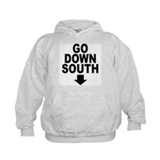 Go Down South ↓ Kids Hoodie