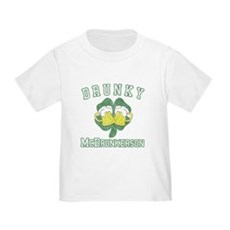 Drunky McDrunkerson Toddler T-Shirt