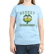Drunky McDrunkerson Womens Light T-Shirt