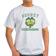 Drunky McDrunkerson Light T-Shirt