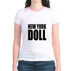 New York Doll Jr Ringer T-Shirt