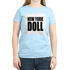 New York Doll Womens Pink T-Shirt