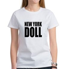New York Doll Womens T-Shirt