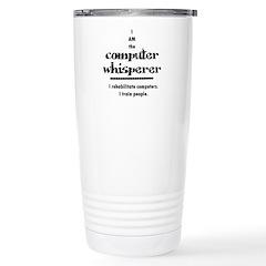 Computer Ceramic Travel Mug