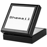 Shemail Keepsake Box - Shemail email for the feminine geek/nerd/neek. Are you a computer genius, or brilliant creative? Shemail your email from UranusCafe.com - Availble Colors: Black,Mahogany