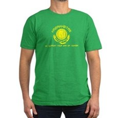 Kazakhstan - We Support Your Mens Fitted T-Shirt