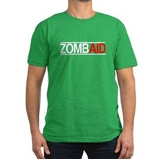 ZombAid Mens Fitted Dark T-Shirt