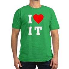 I Love [Heart] It (I Luv It) Mens Fitted T-Shirt