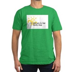 I'll take you to the candy sh Mens Fitted T-Shirt
