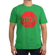 Stop! Hammer Time! Mens Fitted Dark T-Shirt