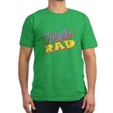 Totally Rad Mens Fitted Dark T-Shirt