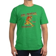 Air Guitar Champion (vintage) Mens Fitted T-Shirt