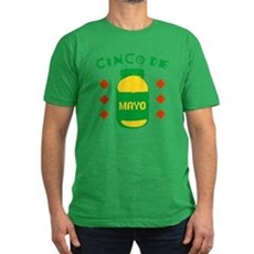 Cinco De Mayo Mens Fitted Dark T-Shirt