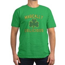 Magically Delicious Mens Fitted Dark T-Shirt