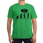 evolution T-Shirt - Availble Sizes:Small,Medium,Large,X-Large,2X-Large (+$3.00) - Availble Colors: Kelly Green,Black,Asphalt,Royal,Navy,Red,Heather Grey,Olive,Orange,Forest,Cranberry,Teal,Army,Eggplant