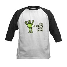 The Humans Are Dead Kids Baseball Jersey