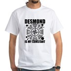 Desmond Is My Constant White T-Shirt