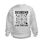 Desmond Is My Constant Kids Sweatshirt
