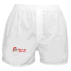 Where my Ho's at? Boxer Shorts
