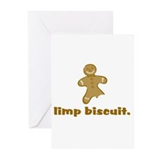 limp biscuit Greeting Cards (Pk of 10)