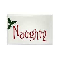 Naughty Rectangle Magnet