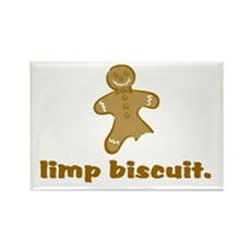 limp biscuit Rectangle Magnet