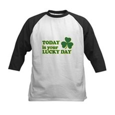 Today Is Your Lucky Day Kids Baseball Jersey