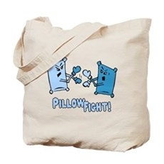 Pillow Fight Tote Bag