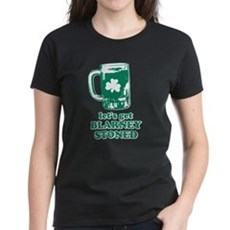 Let's Get Blarney Stoned Womens T-Shirt