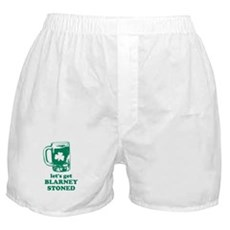 Let's Get Blarney Stoned Boxer Shorts