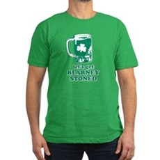 Let's Get Blarney Stoned Mens Fitted Dark T-Shirt
