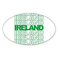 Have a Green Day Oval Sticker