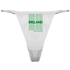 Have a Green Day Classic Thong