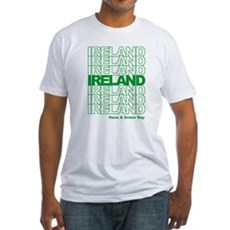 Have a Green Day Fitted T-Shirt