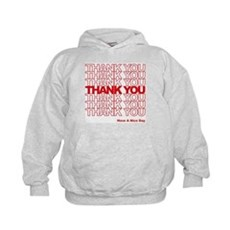 Thank You Bag Kids Hoodie
