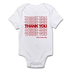 Thank You Bag Infant Bodysuit