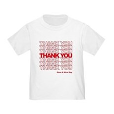 Thank You Bag Toddler T-Shirt