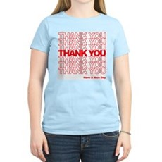 Thank You Bag Womens Light T-Shirt