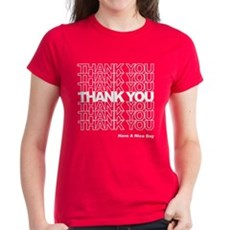 Thank You Bag Womens T-Shirt