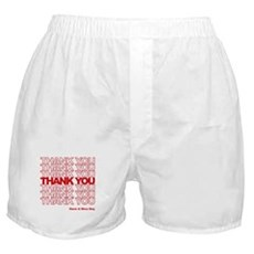 Thank You Bag Boxer Shorts