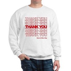 Thank You Bag Sweatshirt