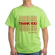 Thank You Bag Green T-Shirt